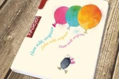 Schreibset-Ballons